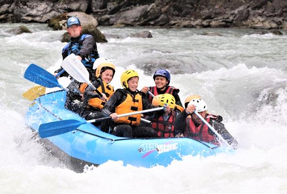 Activité rafting