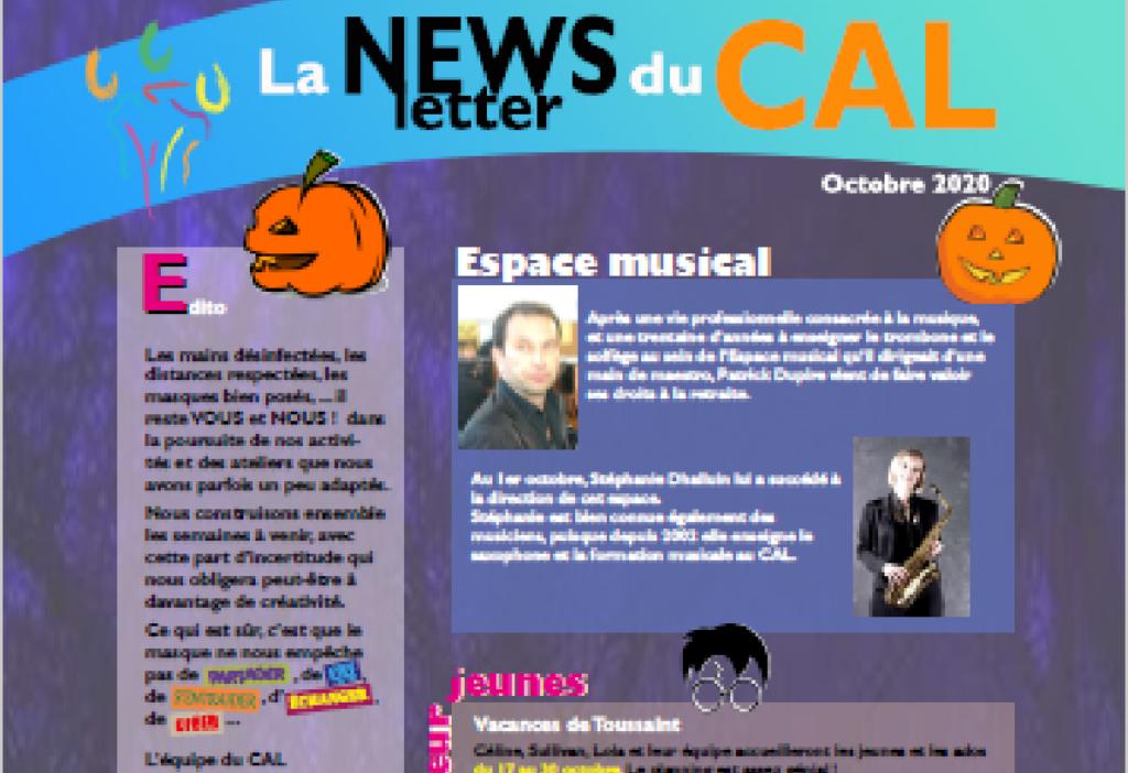 Aperçu newsletter octobre