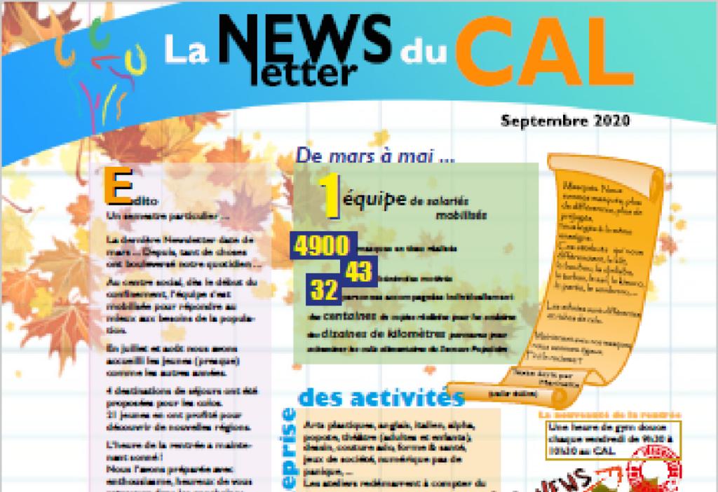 Aperçu newsletter septembre